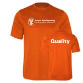 Performance Orange Tee-Quality