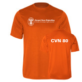 Performance Orange Tee-CVN 80 and 81