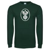 Dark Green Long Sleeve T Shirt-Icon