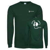 Dark Green Long Sleeve T Shirt-NNS IT
