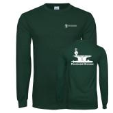 Dark Green Long Sleeve T Shirt-Programs Division