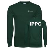 Dark Green Long Sleeve T Shirt-IPPC