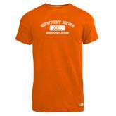 Russell Orange Essential T Shirt-NNS College Design