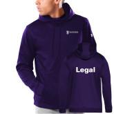 Under Armour Purple Armour Fleece Hoodie-Legal
