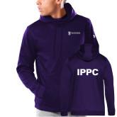 Under Armour Purple Armour Fleece Hoodie-IPPC