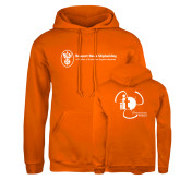 Russell DriPower Orange Fleece Hoodie-NNS IT
