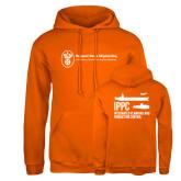 Russell DriPower Orange Fleece Hoodie-IPPC