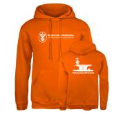 Russell DriPower Orange Fleece Hoodie-Programs Division
