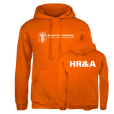 Russell DriPower Orange Fleece Hoodie-HR and A