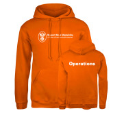 Russell DriPower Orange Fleece Hoodie-Operations