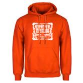 Orange Fleece Hoodie-NNS Vintage