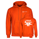 Orange Fleece Hoodie-HR and A