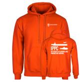 Orange Fleece Hoodie-IPPC
