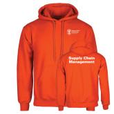 Orange Fleece Hoodie-Strategic Sourcing
