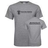 Grey T Shirt-Manufacturing and Material Distribution