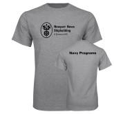 Grey T Shirt-Navy Programs