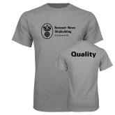 Grey T Shirt-Quality