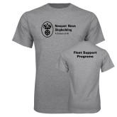 Grey T Shirt-Fleet Support Programs