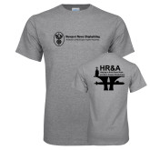 Grey T Shirt-HR & A