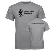 Grey T Shirt-Nuclear Propulsion