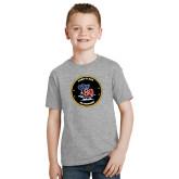 Youth Grey T Shirt-CVN 80