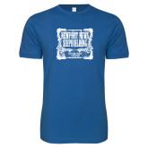 Next Level SoftStyle Royal T Shirt-NNS Vintage