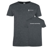 Ladies Dark Heather T Shirt-Contracts and Pricing