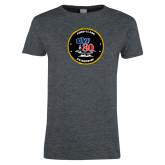 Ladies Dark Heather T Shirt-CVN 80