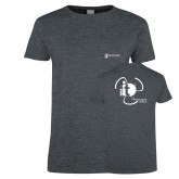 Ladies Dark Heather T Shirt-NNS IT