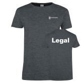 Ladies Dark Heather T Shirt-Legal