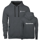 Contemporary Sofspun Charcoal Heather Hoodie-Operations