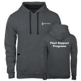 Contemporary Sofspun Charcoal Heather Hoodie-Fleet Support Programs