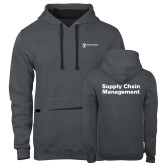 Contemporary Sofspun Charcoal Heather Hoodie-Strategic Sourcing