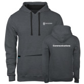 Contemporary Sofspun Charcoal Heather Hoodie-Comms
