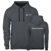 Contemporary Sofspun Charcoal Heather Hoodie-Nuclear Propulsion
