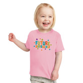 Toddler Pink T Shirt-Future Shipbuilder