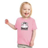 Toddler Pink T Shirt-Future Shipbuilder Submarine