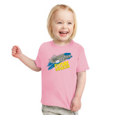 Toddler Pink T Shirt-Future Shipbuilder Carrier Ship