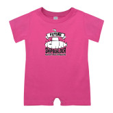 Bubble Gum Pink Infant Romper-Future Shipbuilder Submarine