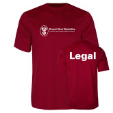 Performance Cardinal Tee-Legal