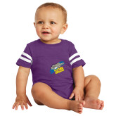 Vintage Purple Jersey Onesie-Future Shipbuilder Carrier Ship