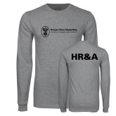 Grey Long Sleeve T Shirt-HR and A