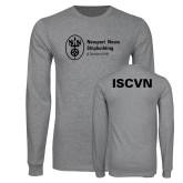 Grey Long Sleeve T Shirt-ISCVN