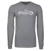 Grey Long Sleeve T Shirt-SSN 789