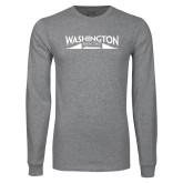 Grey Long Sleeve T Shirt-SSN 787