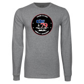 Grey Long Sleeve T Shirt-CVN 79
