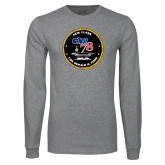Grey Long Sleeve T Shirt-CVN 78