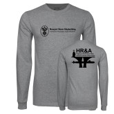 Grey Long Sleeve T Shirt-HR & A
