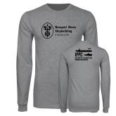 Grey Long Sleeve T Shirt-IPPC
