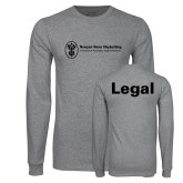 Grey Long Sleeve T Shirt-Legal